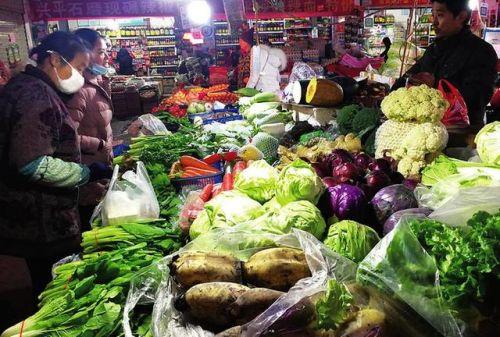 西安菜价明显回落 物价局分析短期价格仍在高位
