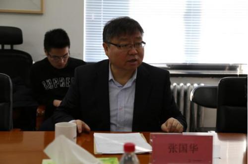 中国广告协会会长张国华发言