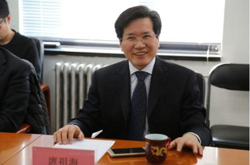中国动漫集团党委书记、董事长庹祖海主持并发言