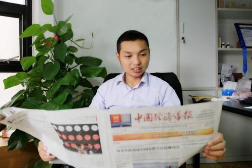 深圳圈子联合文化有限公司董事长、深圳市乡镇企业协会执行副会长李帅 毛志亮 摄