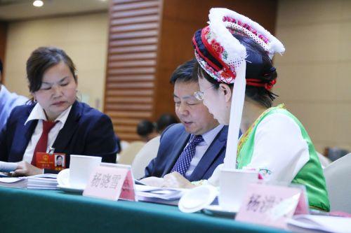 代表委员议国是 红袖添香话生态