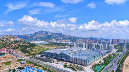 灵山湾文化区万达茂航拍 西海岸发展集团供图 (3)