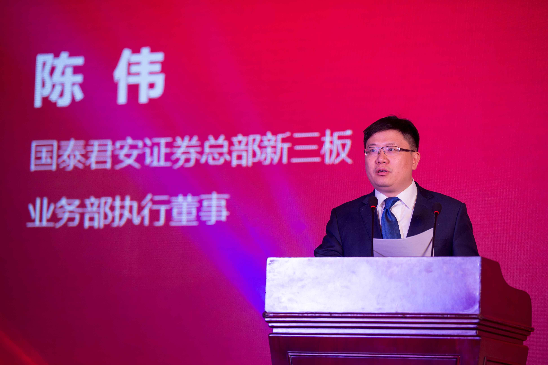 陈伟:鼓励有国有背景的资金主动参与新三板