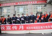 黑龙江省鸡西市鸡冠区地税局税收宣传月活动启幕
