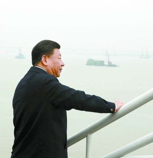 习近平总书记在湘考察长江经济带发展回访记