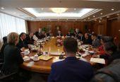 中欧就中国对外开放和利用外资等议题交换意见