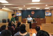 沈阳市工商联联合沈阳市中级人民法院举办庭审观摩活动
