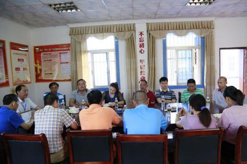 龙江农场公司党委书记、董事长陈吉明带领相关工作人员到龙江管理站进行现场督导 (2)