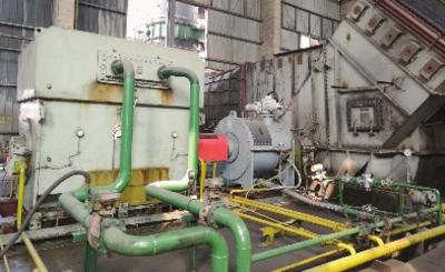 新余钢铁炼钢高炉一次除尘风机改造后。程晖/供图