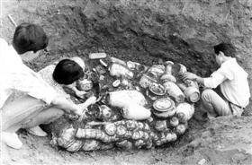 1991年发掘现场