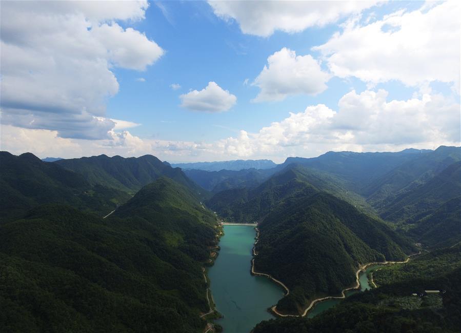 重庆武隆:青山绿水 自与今朝长是醉
