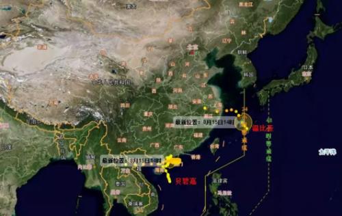 """""""温比亚""""影响或大过前几次台风 今明天松江区将出现大到暴雨"""
