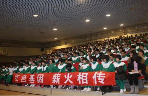 """北京市第十三中分校""""军创爆点新闻思维""""大讲堂"""