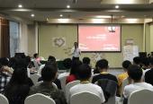 能量中国负责人受邀对青年代表进行培训