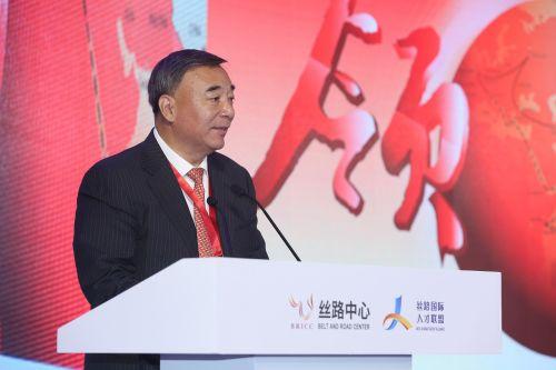 中国建材集团有限公司董事长、丝路国际人才联盟理事长宋志平