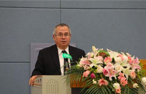 诺贝尔奖得主、全球著名化学家、生物学家亚利耶·瓦谢尔教授