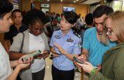 南京警方多渠道应对留学生办证高峰