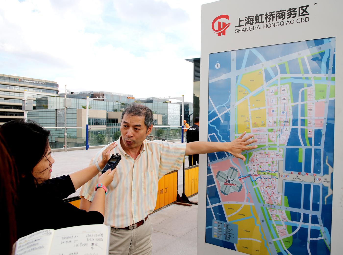 虹桥商务区进出口博览会工程 (14)