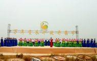 江西万年:贡米丰收开镰节喜庆丰收