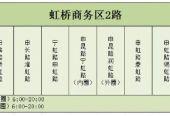 虹桥商务区为保障中国进口博览会今天开通2路公交环线