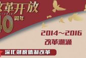 2014—2016改革潮涌