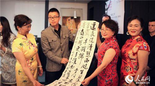中国丝瓷艺术生活展惊艳英国