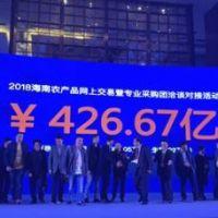 """""""冬交会""""海南农产品网上交易订单量首日达426亿"""