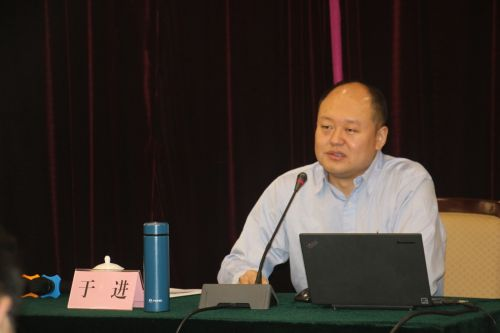 ,中国经济导报社副总编辑、中国发展网总编辑于进