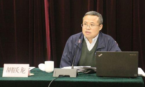 中国经济导报社社长胡跃龙