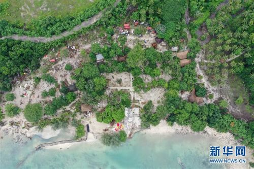(國際)(2)航拍印尼巽他海峽海嘯災區