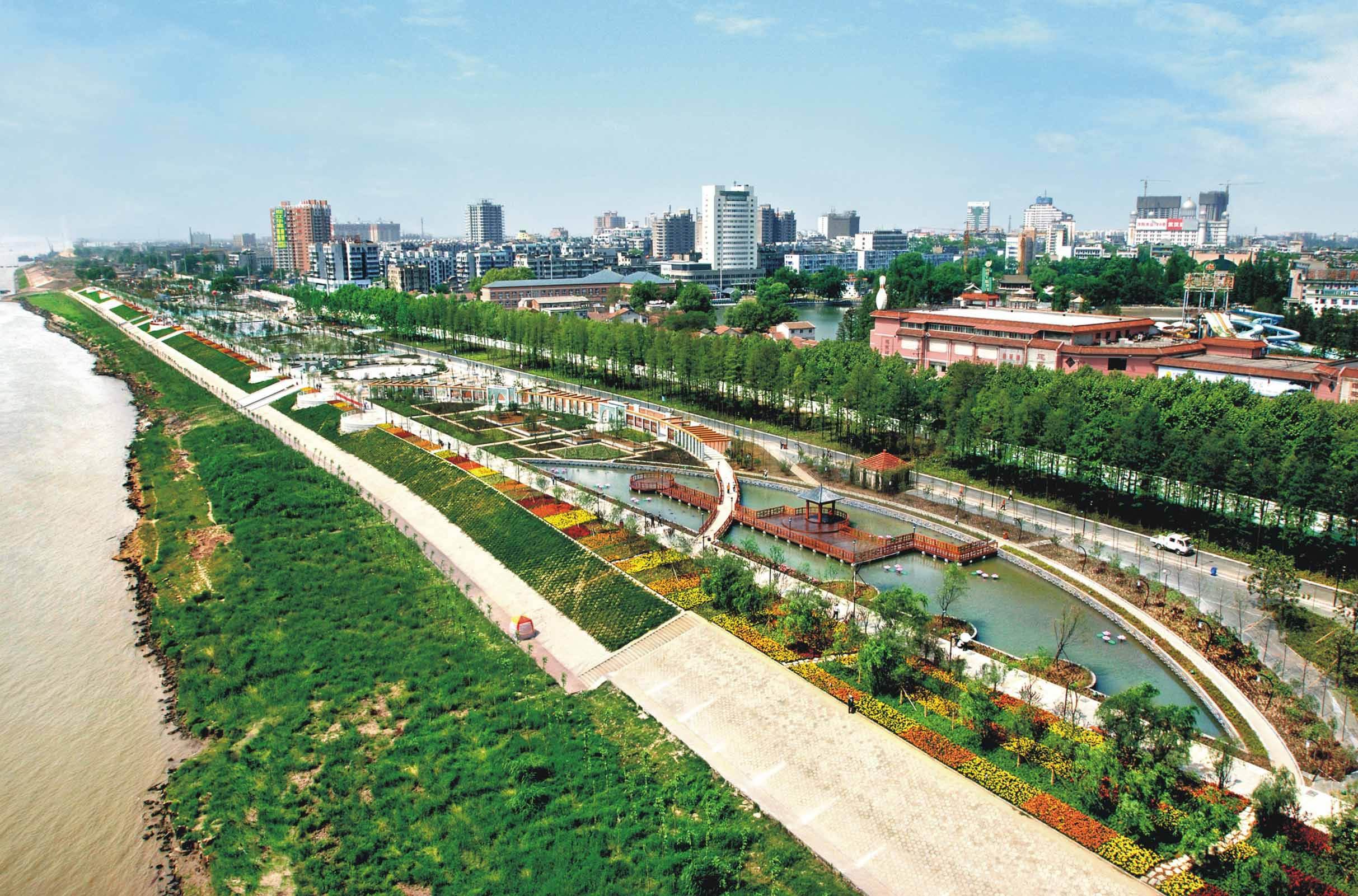 武汉市探索建立人与自然利谐共生的秀美生态江滩