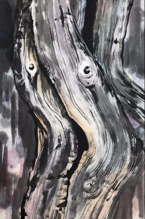 《树语》系列 创作时间:2016年