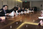 中日双方就发展地方经济和构建智慧城市等议题交流