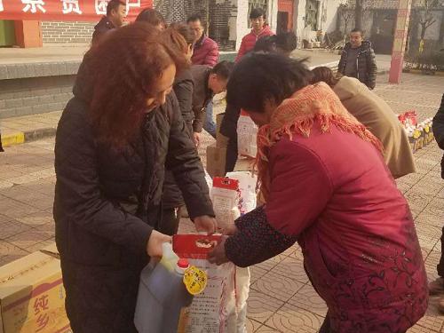陕西眉县物价局携手爱心企业送温暖献爱心