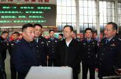 株洲市领导深入督导安全生产并慰问春节值班民警和官兵