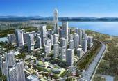 """青岛海洋活力区在西海岸开工奠基投资1000亿元打造青岛""""未来之城"""""""