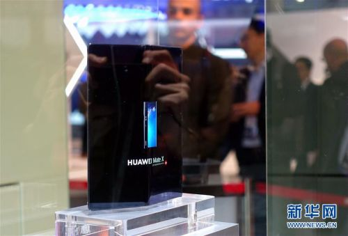 (国际·图文互动)(3)华为推出首款5G折叠屏手机Mate X