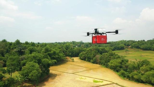 印尼政府为中国无人机送货保驾护航