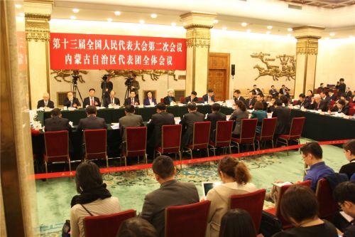 内蒙古自治区代表团