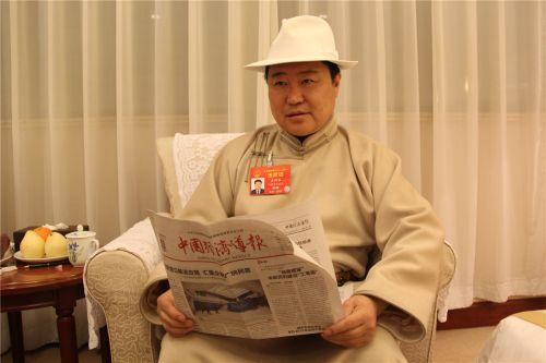 全国人大代表、内蒙古发展改革委主任龚明珠