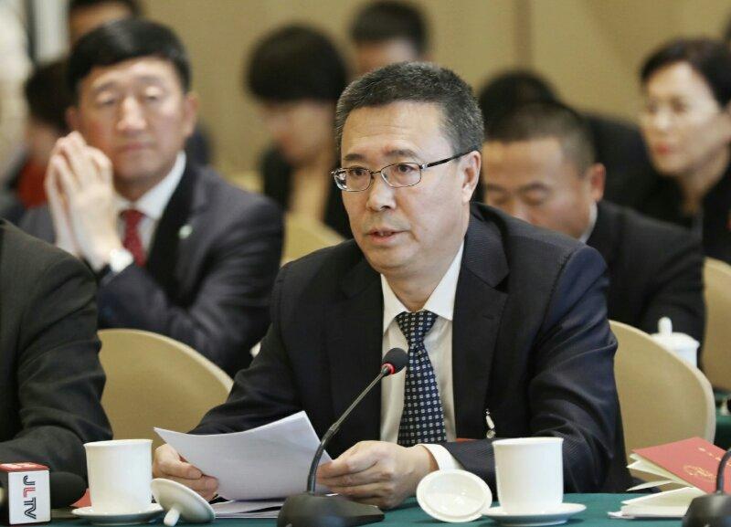 全国人大代表、吉林省四平市委书记韩福春