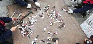 成都公安机关集中销毁2万余件侵权商品