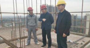 江西省贵溪副市长督导建筑施工安全生产