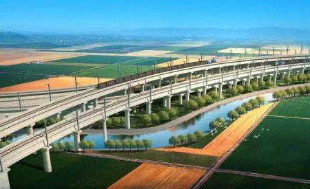 好消息!董家口港疏港铁路明年通车,将与青连铁路互通!