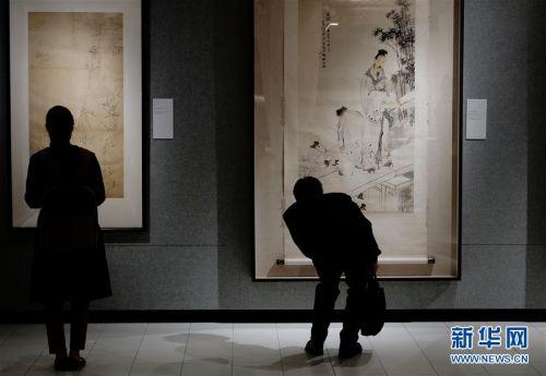 (图文互动)(2)中国美术馆藏任伯年人物画特展在港开幕