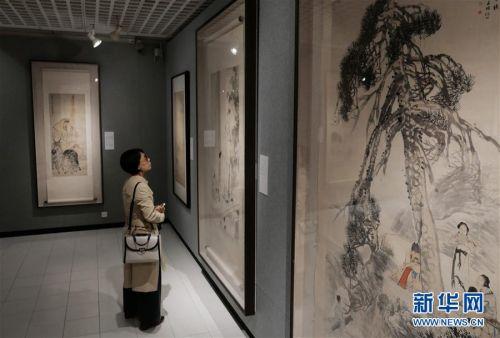 (图文互动)(5)中国美术馆藏任伯年人物画特展在港开幕