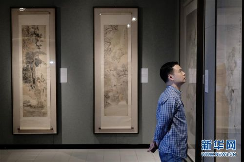(图文互动)(1)中国美术馆藏任伯年人物画特展在港开幕