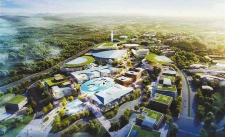 重庆两江协同创新区设计初步确定:5个公园,2条智轨线路