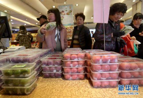 """(图片故事)(2)青团为什么这么""""红""""?——探访上海老字号""""网红青团"""""""