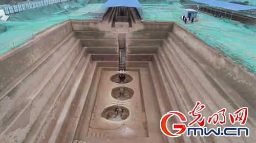 """湖北荆州胡家草场墓地等4项""""考古中国""""重要成果公布"""